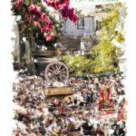 El dinamismo y el colorido de la primavera, protagonistas del cartel de la XLIX Romería de San Marcos