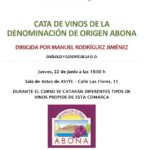 Cata de vinos de la D.O. Origen Abona organizada por AVITE