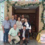 Visita de AVITE a la exposición del CEIP Francisca Santos Melián