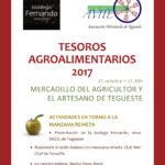 Tesoros Agroalimentarios,  la manzana reineta con los vinos de Tegueste