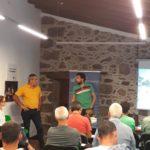 Presentación de la experiencia sobre viticultura ecológica en la finca Los Zamorano de Tegueste